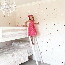 SISANLAI Diy Schlafzimmer Selbstklebende Tapete Wand Aufkleber für Kinder Zimmer Einrichtung