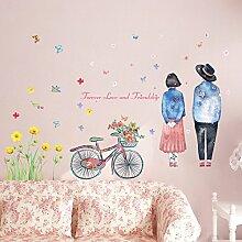 SISANLAI Kreative Wand Poster Sie Sofa im Wohnzimmer Tv Wand Dekorationen entfernen