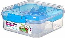 Sistema Bento Cube Box to Go mit Obst/Joghurt