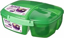 Sistema Lunch Triple Split Lunchbox mit