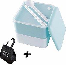 Sistema Lunchbox Lunchbox mit Fach Doppellagige