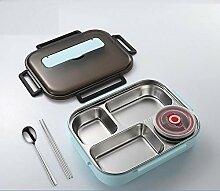 Sistema Lunchbox Lunchbox mit Fach SS Edelstahl