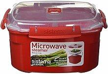 Sistema Microwave Dampfgarer, mittelgroß mit