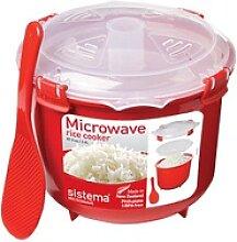 sistema® Mikrowellen-Reiskocher Reiskocher