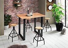 SIT Bartisch Tops&Tables, mit Baumkante wie
