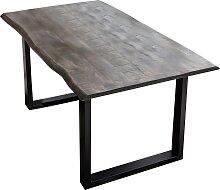 SIT Esstisch, mit Baumkante wie gewachsen B/H/T: