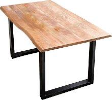 SIT Esstisch Tischplatte: Massivholz, Gestell: