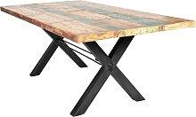 SIT Esstisch Tops, aus recyceltem Altholz