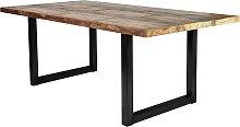 SIT Esstisch Tops, aus recyceltem Altholz und