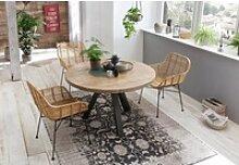 SIT Esstisch Tops&Tables, mit Massivholzplatte aus