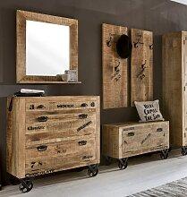 SIT Garderoben-Set Rustic (5-tlg) Einheitsgröße