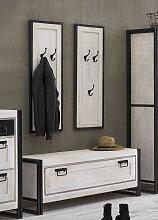 SIT Garderoben-Set White Panama, (Set, 3 St.)
