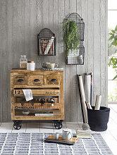 SIT Küchenwagen Rustic 78x50x87 cm beige