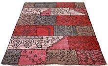 SIT-Möbel 1015-25 Teppich This und That, 200 x 300 cm, Wolle, 100% Wolle, dessin pink