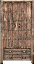 SIT-Möbel 2765-04 Schrank Sahara, 2 Holztüren, 2 Schubladen, 2 Einlegeböden, circa 100 x 40 x 190 cm