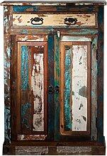 SIT-Möbel 9169-98 Brotschrank, 2 Türen, 1 Schublade, 82 x 40 x 120 cm