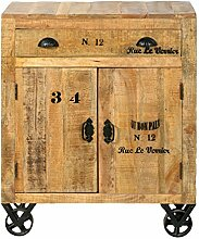 SIT-Möbel Rustic 1909-04 Kommode mit 2 Türen, 1