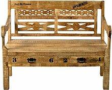SIT-Möbel Rustic 1920-04 Bank mit 2 Schubladen, 2