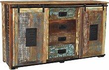 SIT Sideboard Jupiter, aus recyceltem Altholz,