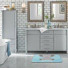 Sitear Badezimmerteppich mit niedlichem Elefanten,