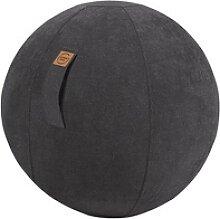 SITTING BALL ALFA Sitzball schwarz 65,0 cm