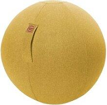 SITTING BALL FELT Sitzball gelb