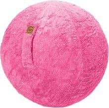 Sitting Ball Sitzball Fluffy Pink