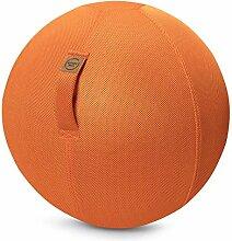 Sitting Ball Sitzball Mesh Orange ca. 65 cm