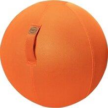 Sitting Ball Sitzball Mesh Orange