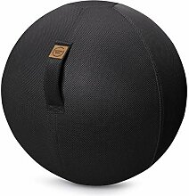 Sitting Ball Sitzball Mesh schwarz ca.65cm