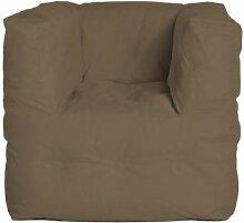 Sitting Bull Couch l Sessel, braun grau