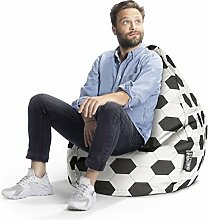 SITTING POINT only by MAGMA Sitzsack Fußball XL,