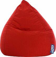 Sitting Point Sitzsack EASY L Einheitsgröße rot