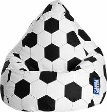 Sitting Point Sitzsack Fussball XL Einheitsgröße