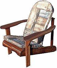 Sitzauflage für Adriondach Gartenstuhl oder Gartenbank, woodi