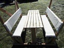 Sitzauflagen für Kinderpavillon, beige