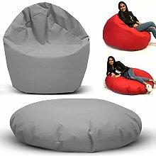 Sitzbag Sitzsack 2 in 1 Funktionen Styropor