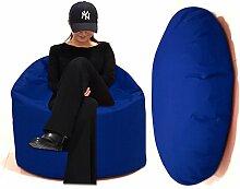 Sitzbag Sitzsack 2 in 1 XL-XXL-XXXL mit Füllung -