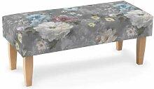 Sitzbank 100 cm, grau, 100x40x40cm, Monet