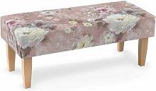 Sitzbank 100 cm, rosa, 100x40x40cm, Monet