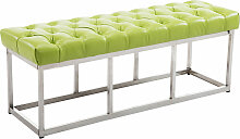 Sitzbank Amun E Kunstleder-grün-120 cm