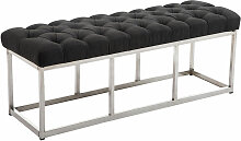 Sitzbank Amun E Stoff-dunkelgrau-120 cm