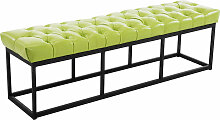 Sitzbank Amun Kunstleder-grün-150 cm
