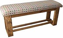 Sitzbank aus Holz, gepolstert, für Flur/Esstisch,