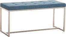 Sitzbank Barci Stoff-blau