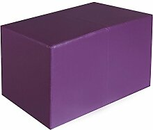 Sitzbank lila Maße: 85 cm x 43 cm x 48 cm