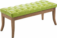 Sitzbank Ramses Kunstleder antik-hell-grün-100 cm
