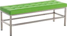 Sitzbank St. Pauli Kunstleder-grün-120 cm