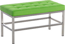 Sitzbank St. Pauli Kunstleder-grün-80 cm