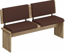 Sitzbank Topsham aus Holz